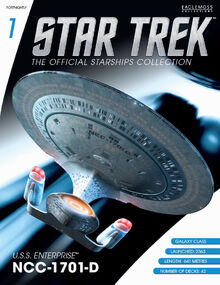 Star Trek The Official Starships Collection Issue 1