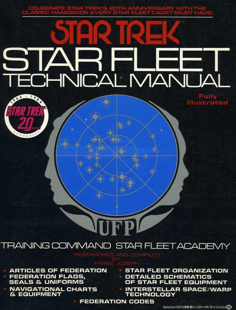 Star Fleet Technical Manual Memory Beta Non Canon Star Trek Wiki