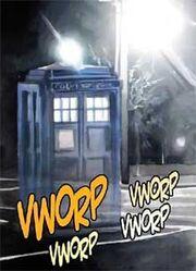 TARDIS materializing