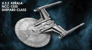 Eaglemoss USS Kerala