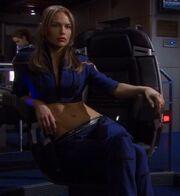 Imperial Starfleet female command uniform, 2155