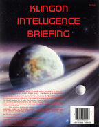 FASA Klingon Intelligence Briefing