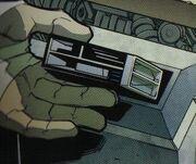 Klingon data record IDW Comics