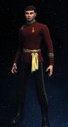 Imperial Starfleet medical uniform, 2280s