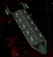 Romulan mining freighter