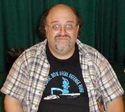 Peter David at convention