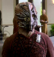 Coridanite with mask, 2155