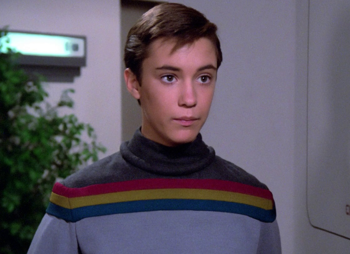 Image result for wesley crusher
