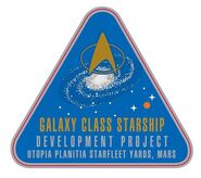 Galaxy Class Starship Development Project