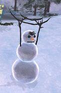Klingon snowman