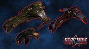 Klingon timeships
