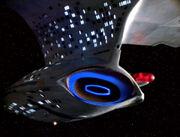 Galaxy class navigational deflector