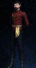 Imperial Starfleet first officer's operations uniform, 2267