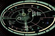 Orbital weapon platform display