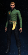 Imperial Starfleet first officer's command variant, 2267