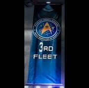 3rd fleet banner blu