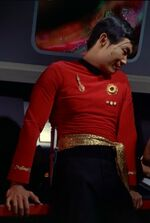 Imperial Starfleet operations uniform, 2267