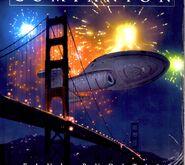 Voyager over Golden Gate Bridge