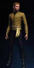 Imperial Starfleet first officer's command uniform, 2267