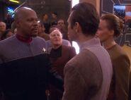 Sisko and Yevir