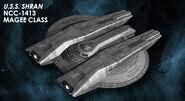 Eaglemoss USS Shran