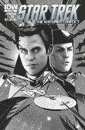 IDW Star Trek, Issue 26 sketch cover