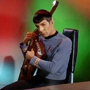 Spock plays Vulcan lute