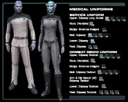 SF medical uniform