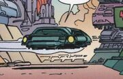 Romulan hovercar-aft view