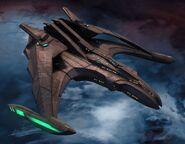 Dhael class Romulan Type 2 Brown