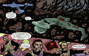 Klingons attack NX-0002