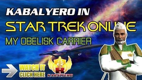 Video Star Trek Online My Obelisk Carrier Sphere Of Influence