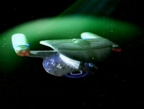 Galaxy class deflector shield