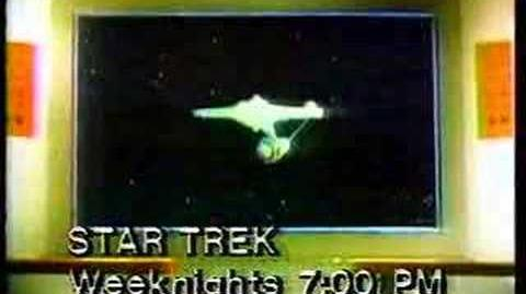 Star Trek Promo WPHL 1980