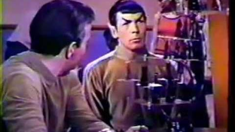 STAR TREK UNAIRED VERSION 2ND PILOT INTRO from 16mm film