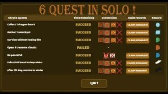 STARVE.IO - 6 Quests Solo Challenge!