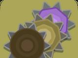 Amethyst Spikes