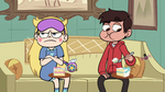 S1E6 Marco looks at spider in a top hat