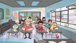 S1E3 Star and Marco in class