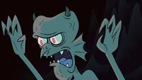 S1e1 monster face