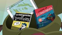 S1E6 Scandinavian things in Gustav's bag