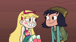 S2E16 Star Butterfly and Janna smiling