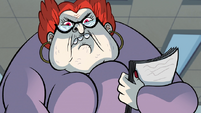 S1E3 Miss Skullnick's menacing face
