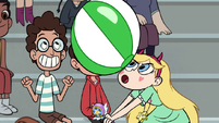 S1E4 Star about to hit the ball