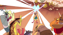S1E3 Star casts Turbo Nuclear Butterfly Blast
