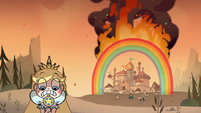 S1e1 flaming rainbow disaster