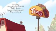 Britta's Tacos sign