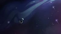 S2E2 Ludo flying into deep space