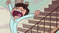 S1E14 Marco comes down the stairs