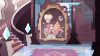 S1e1 portrait of star and family